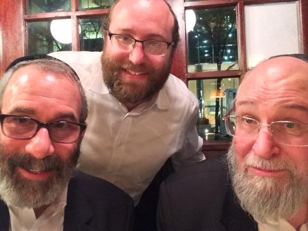 BRI's Gil Bashe, Yossi Katz & Chaim Kramer