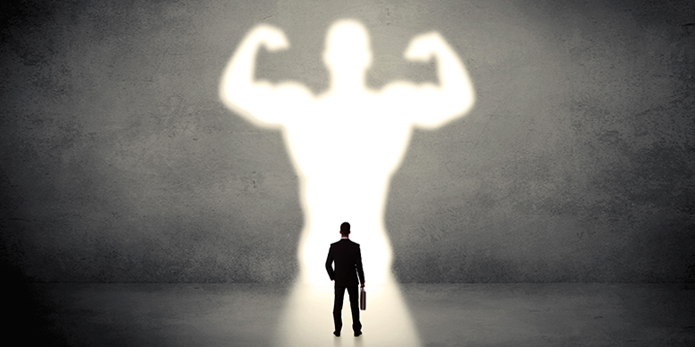 The gibor part of a man needs to feel strong and in command