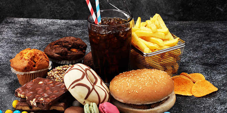 Stop eating food that your body can barely digest, and which therefore end up piling up inside of you